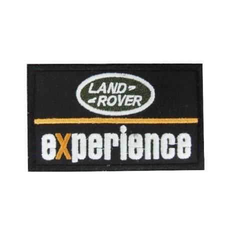 Patch emblema bordado 10x6  Land Rover EXPERIENCE