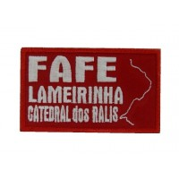 Embroidered patch 10x6 FAFE LAMEIRINHA CATEDRAL DOS RALIS