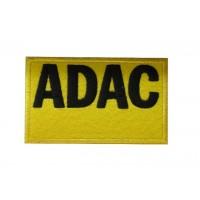 0859 Patch écusson brodé 10x6 ADAC