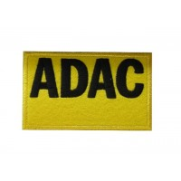 0859 Patch emblema bordado 10x6 ADAC