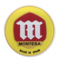 0864 Embroidered patch 22x22 MONTESA made in spain