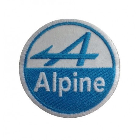 Patch emblema bordado 7x7 ALPINE