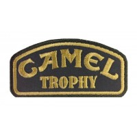 0869 Embroidered patch 10x5 CAMEL TROPHY
