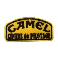 0871 Embroidered patch 10x5 CAMEL TROPHY centre de pilotage