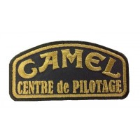 0872 Embroidered patch 10x5 CAMEL TROPHY centre de pilotage