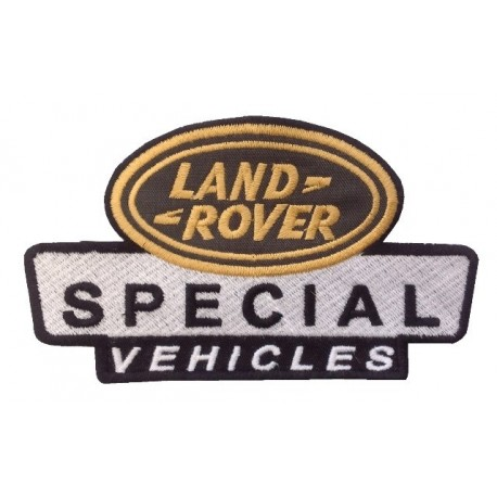 Embroidered patch 14x8 LAND ROVER SPECIAL VEHICLES