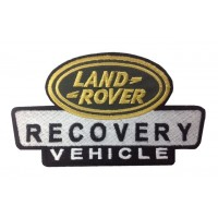0874 Patch écusson brodé 14x8 LAND ROVER RECOVERY VEHICLES
