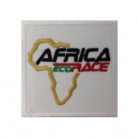 0879 Patch écusson brodé 7x7 AFRICA ECO RACE