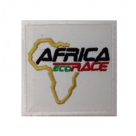 Embroidered patch 7x7 AFRICA ECO RACE