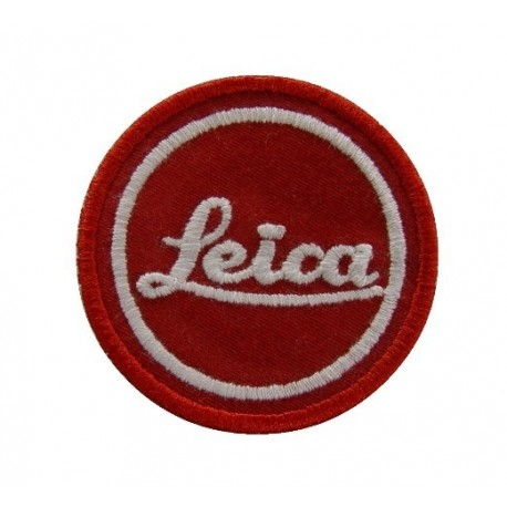 Embroidered patch 5X5 LEICA