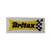 0889 Embroidered patch 10x4 BRITAX