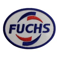 0892 Patch emblema bordado 9x7 FUCHS