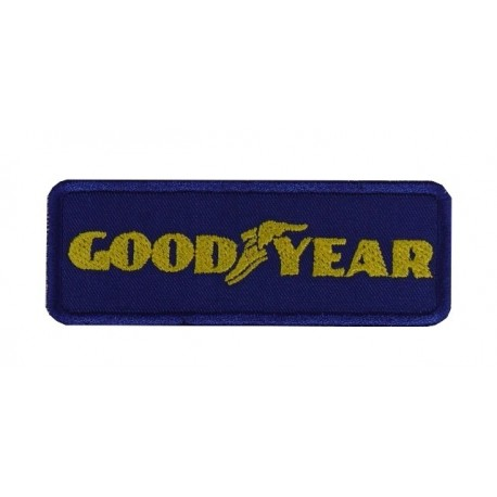 Embroidered patch 9X3 GOOD YEAR