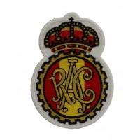 0899 Patch emblema bordado 10x6 RAC REAL AUTOMOVIL CLUB DE ESPAÑA