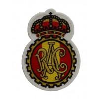 0899 Patch écusson brodé 10x6 RAC REAL AUTOMOVIL CLUB DE ESPAÑA