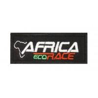 0901 Patch emblema bordado 10x4 AFRICA ECO RACE