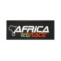 0901 Embroidered patch 10x4 AFRICA ECO RACE