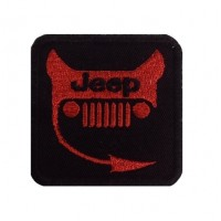 0905 Embroidered patch 6X6 JEEP DEVIL