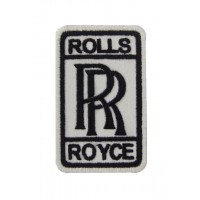 0907 Patch emblema bordado 9x5 ROLLS ROYCE