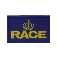 0914 Patch écusson brodé 7X4.5 RACE