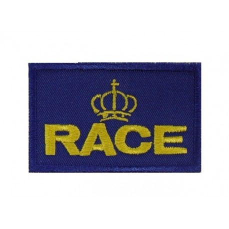 Embroidered patch 7X4.5 RACE