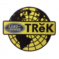 0920 Embroidered patch 22x22  LAND ROVER TREK