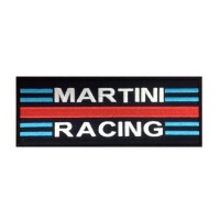 0924 Embroidered patch 25x10 MARTINI RACING