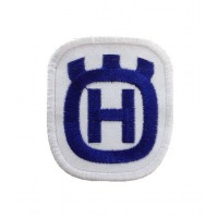 0925 Patch emblema bordado 6X6 HUSQVARNA