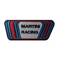 Patch écusson brodé 12X5 MARTINI RACING