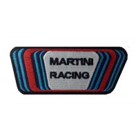Patch emblema bordado 12X5 MARTINI RACING