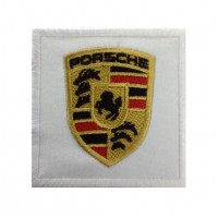 0106 Embroidered patch 7x7 Porsche