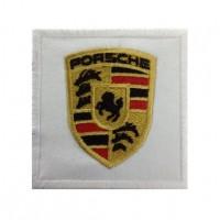 0106 Patch emblema bordado 7x7 Porsche