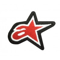 Embroidered patch 6x5 Alpinestar
