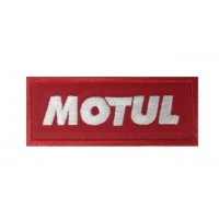 Embroidered patch 10x4 MOTUL