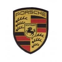 Patch emblema bordado 7x6 PORSCHE