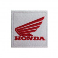 0129 Embroidered patch 7x7 HONDA