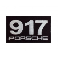 0971 Embroidered patch 10x6 PORSCHE 917