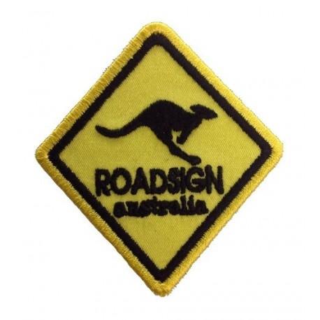 Patch emblema bordado 8x6,5 ROADSIGN AUSTRALIA