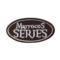 0978 Parche emblema bordado 9x5 MARROCOS SERIES
