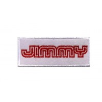 0086 Patch emblema bordado 10x4 SUZUKI JIMMY