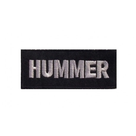 Patch emblema bordado 10x4 Hummer