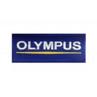 1018 Patch emblema bordado 10x4 OLYMPUS