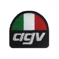 0160 Embroidered patch 6X6 AGV
