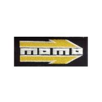 0094 Patch emblema bordado 10x4 Momo Racing