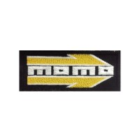 0094 Embroidered patch 10x4 Momo Racing
