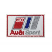 0736 Embroidered patch 10x6 AUDI SPORT