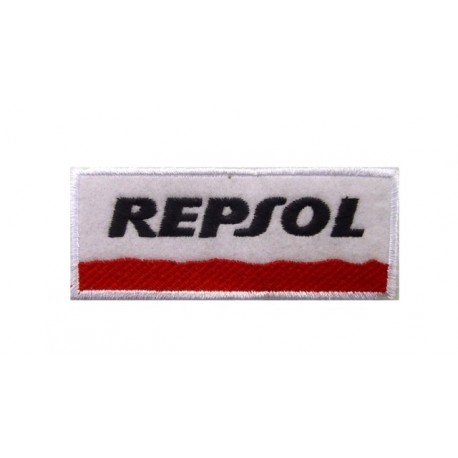 Patch emblema bordado 10x4 Repsol