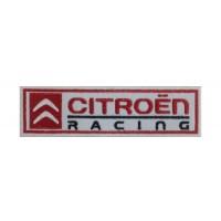 0243 Parche emblema bordado 15X4 CITROEN RACING WRC TEAM