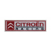 0243 Patch écusson brodé 15X4 CITROEN RACING WRC TEAM