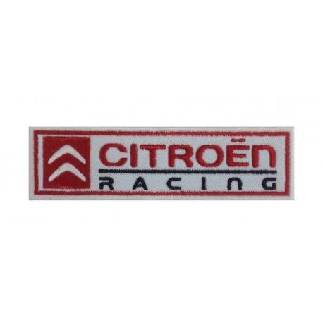 0243 Patch emblema bordado 15X4 CITROEN RACING WRC TEAM